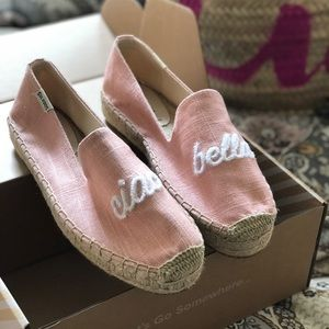 NWT Soludos Ciao Bella sneakers brand new in box